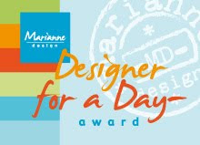 Marianne Design - Designer for a Day Award