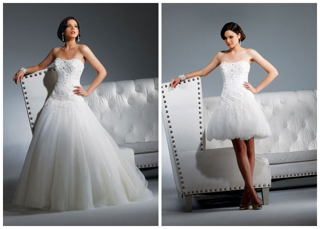 WhiteAzalea 2 in1 Wedding Dresses