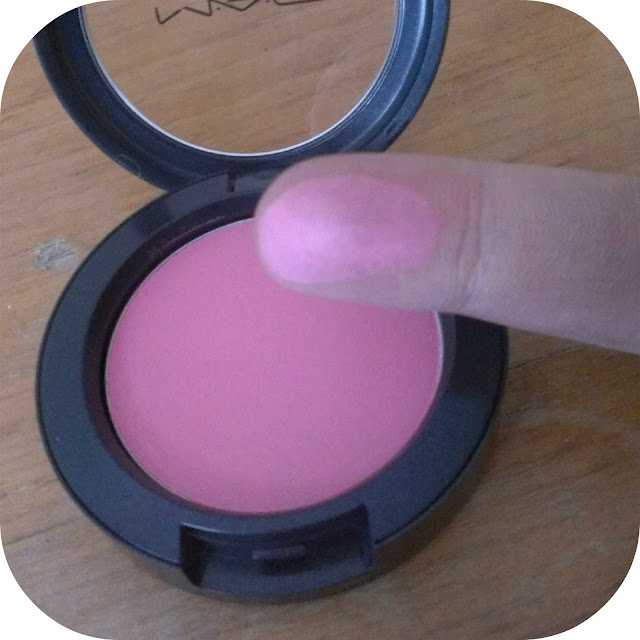 MAC Pro-Longwear Blush in Stay Pretty Swatch