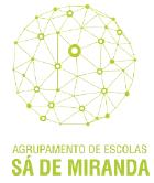 Sítio do Agrupamento de Escolas Sá de Miranda