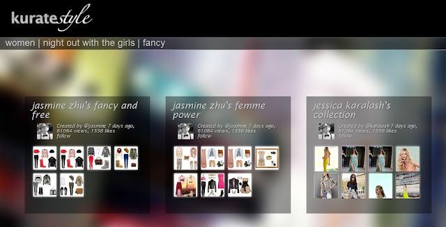 shopping with girls kuratestyle set