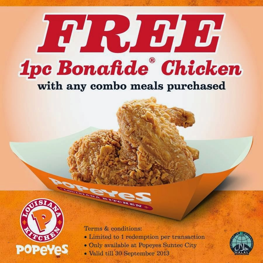 Popeyes coupon code