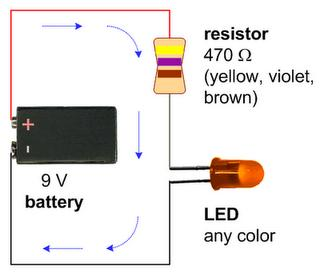 LED - FUTURE OF LIGHT: Easiest way to make Led Circuit !!!