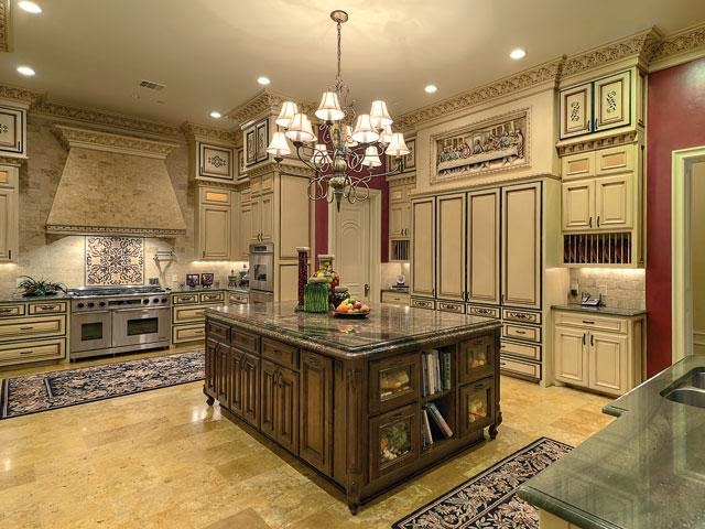 Tricked out mansions showcasing luxury houses june 2014 for Luxury french kitchen
