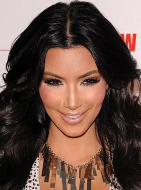 kim kardashian cara