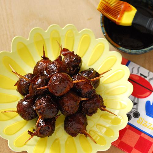 MOINK balls, BGE appetizer