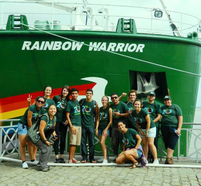 Rainbow Warrior I Ii Y Iii Greenpeace: Greenpeace Porto Alegre: A Bordo Do Rainbow Warrior IIII