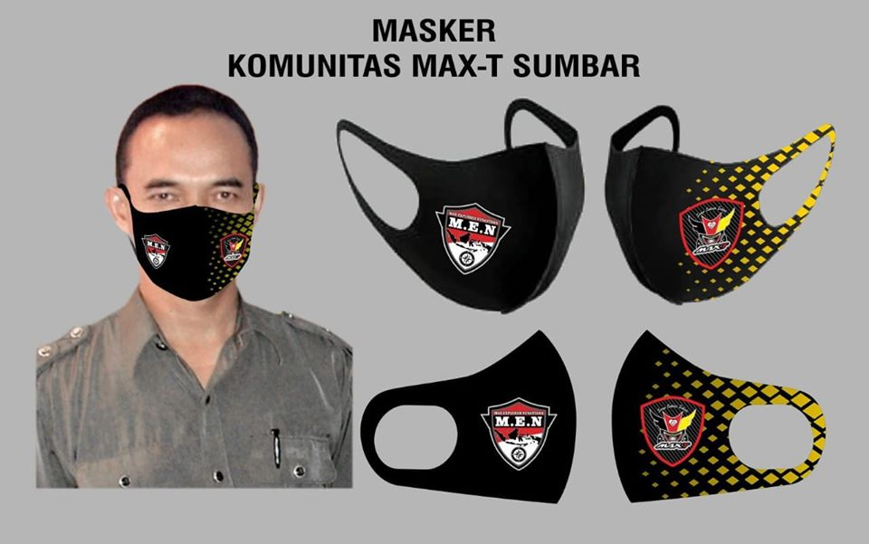 MASKER SCUBA KOMUNITAS MOTOR MAX