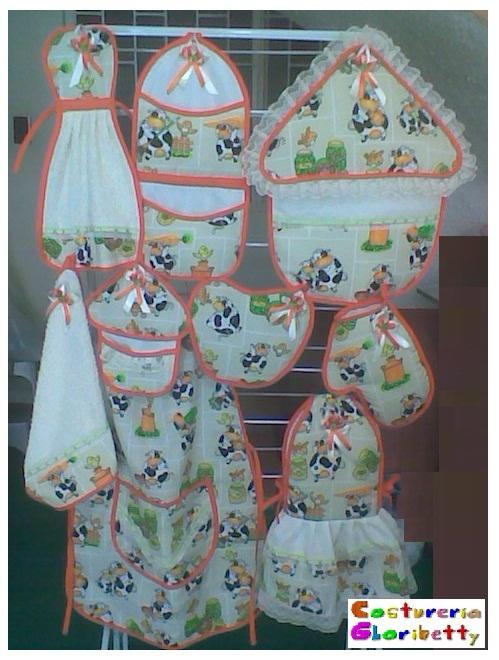 Figuras De Lenceria De Baño:Lencería para el Hogar y otras costuras: Juegos de Cocina