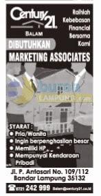 Lowongan Kerja Century 21 Lampung