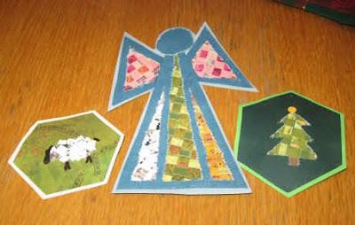Woven paper ornaments 3