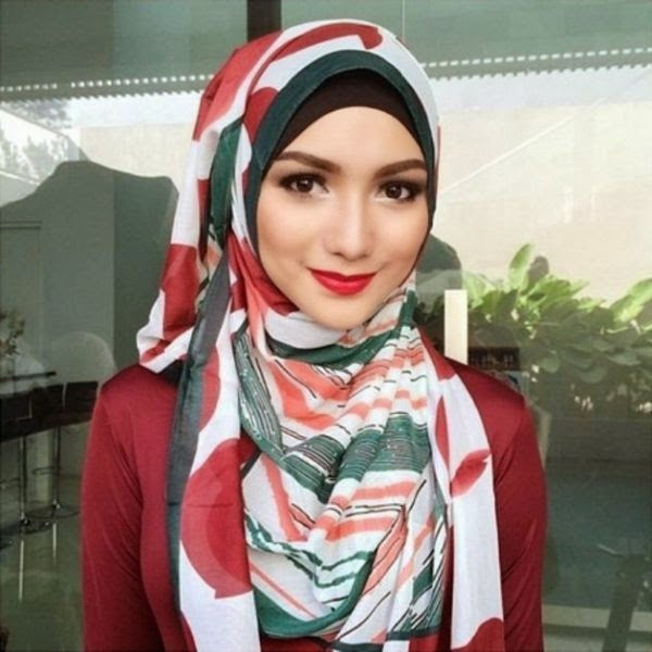 10 Model jilbab terbaru citra kirana yang menawan mata