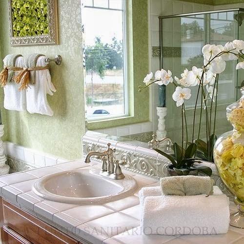 Flores En El Baño Feng Shui:PUNTO SANITARIO: Feng shui en el cuarto de baño