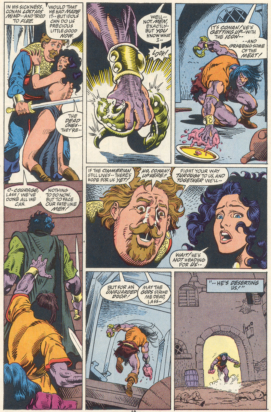Conan the Barbarian (1970) Issue #256 #268 - English 15