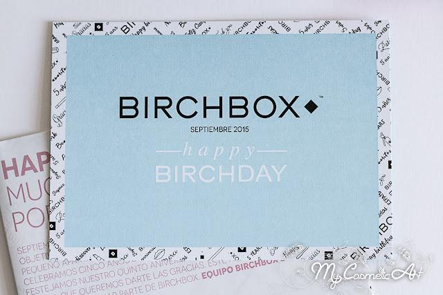 Happy Birchday: Birchbox de Septiembre de 2015