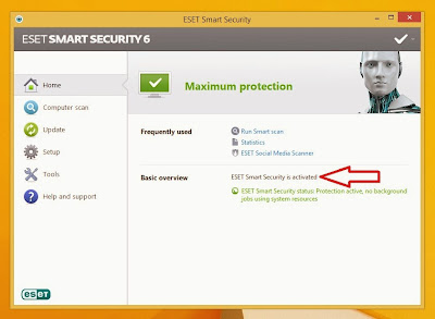 Mudahnya Crack ESET Smart Security 6 di Windows 8.1