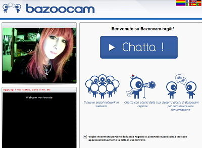 l alternativa a chatroulette pornografia italiani
