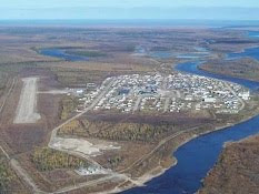 Attawapiskat from the air.