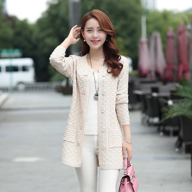 Áo len cardigan đẹp mùa thu đông