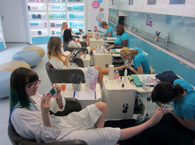 Bliss Spa Pedicure