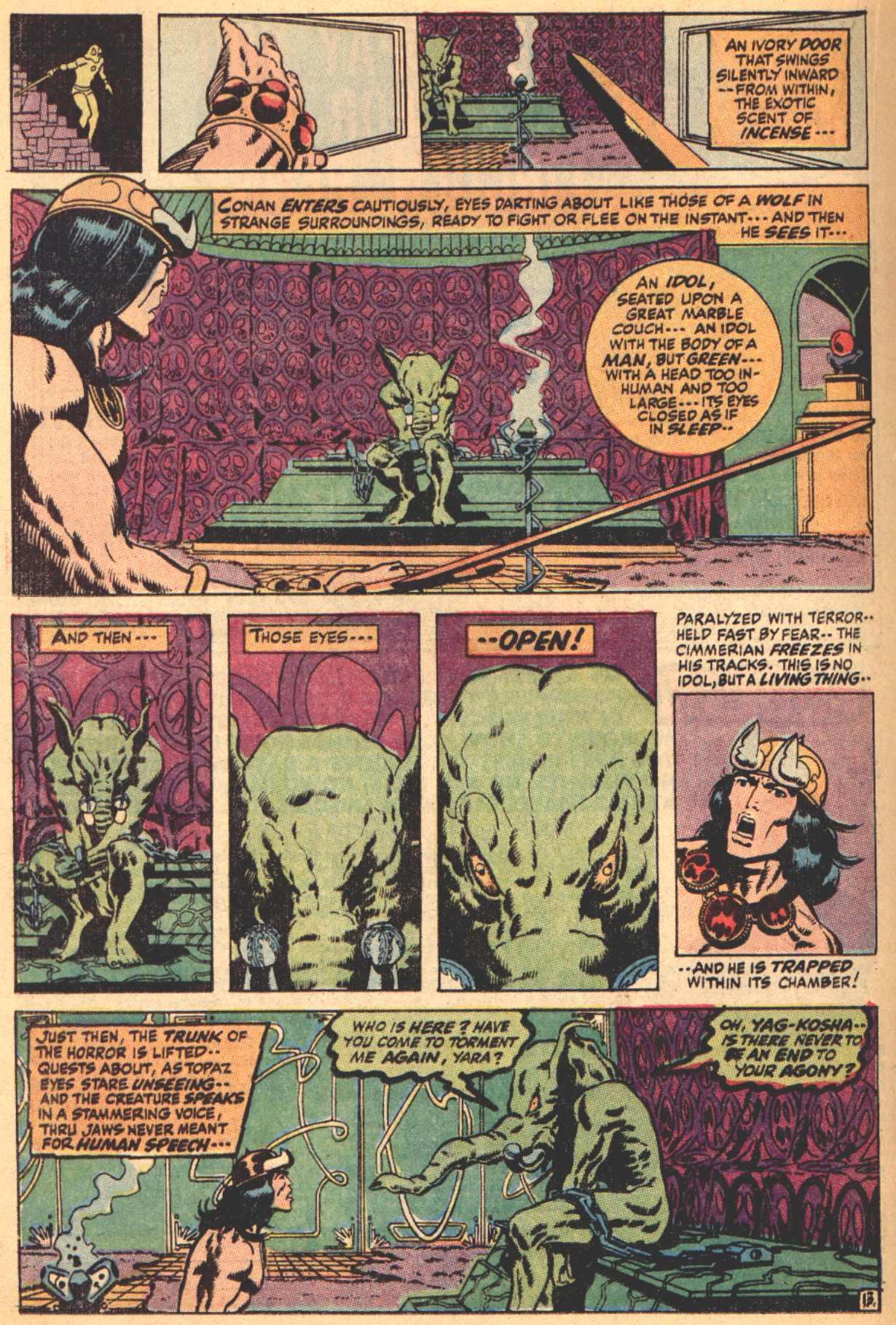 Conan the Barbarian (1970) Issue #4 #16 - English 14