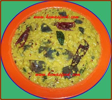 Eggplant Green Gram Curry