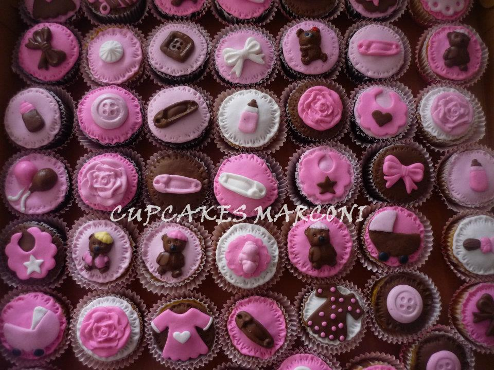Mini Cupcakes For Baby Shower