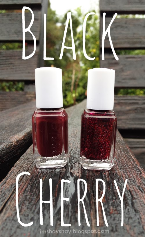 Black Cherry Nails | imshayshay.blogspot.com