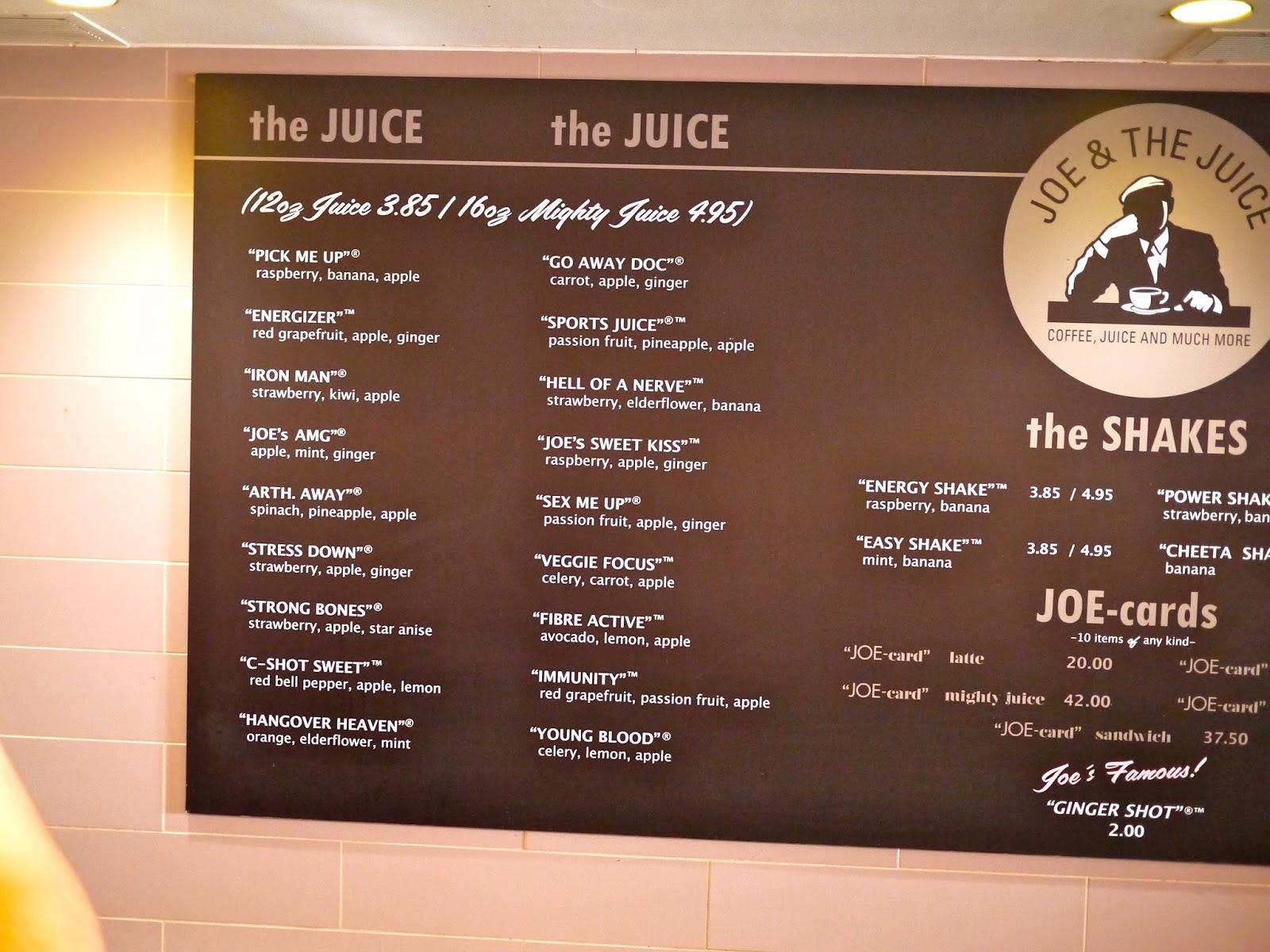 joe and the juice Djúsarnir frá joe & the juice eru heimsfrægir fyrir ferskleika og gott bragð kíktu á úrvalið af djúsum hér og veldu þinn uppáhalds djús.