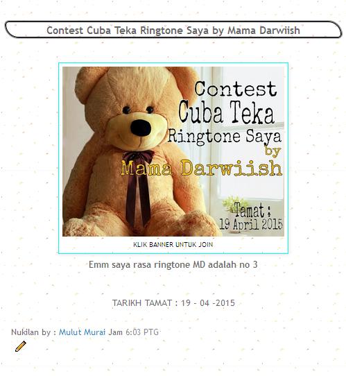 http://sigilerceloteh.blogspot.com/2015/03/contest-cuba-teka-ringtone-saya-by-mama.html