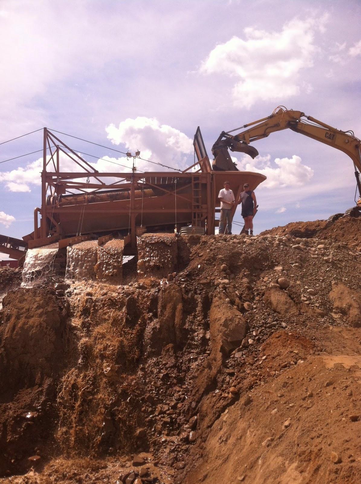 Big Sky Gold mining