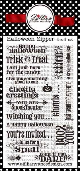 Halloween Greetings Stamp