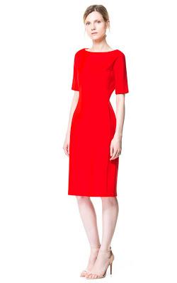 Tube dress from Zara