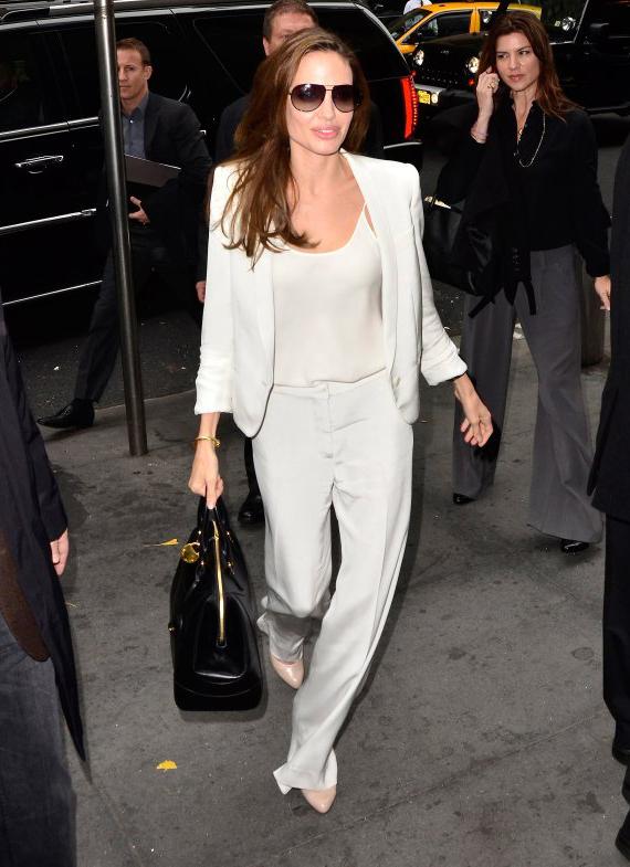 Angelina Jolie Street Style