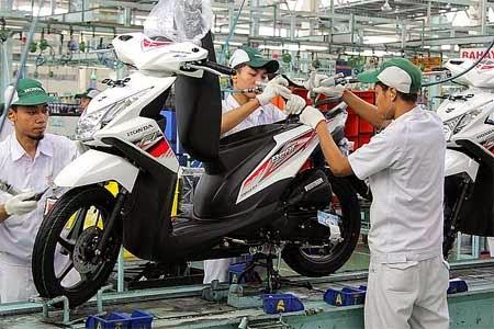 Honda BeAT 2014 dengan facelift terbaru