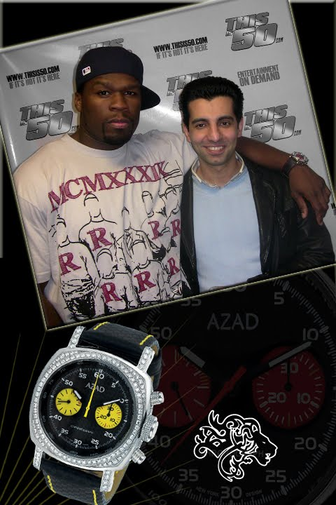 50 CENT & AZAD WATCHES INC