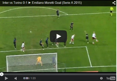 Highlights Liga Italia : Inter 0-1 Torino