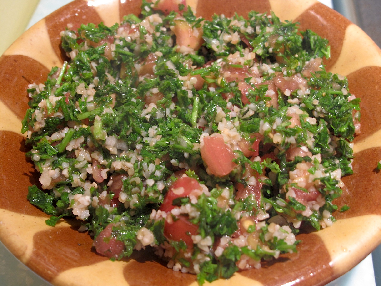 somerville kitchen: Authentic Lebanese Tabouleh Recipe