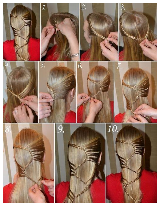 Cute simple hairstyles for girls