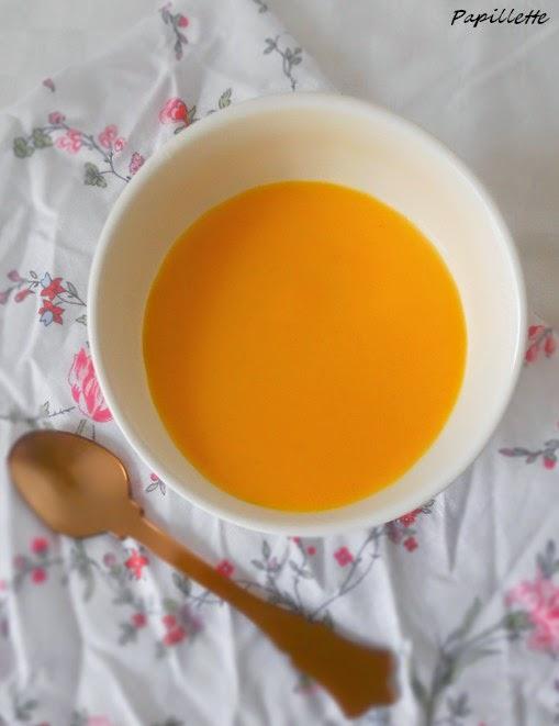 velouté carotte aux épices