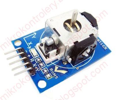 Arduino: Miniaturowy joystick bez gałki