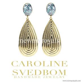 Princess Sofia style Caroline Svedbom Pelagia Earrings