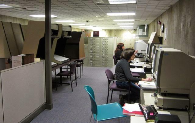 Ohio History Center microfilm research
