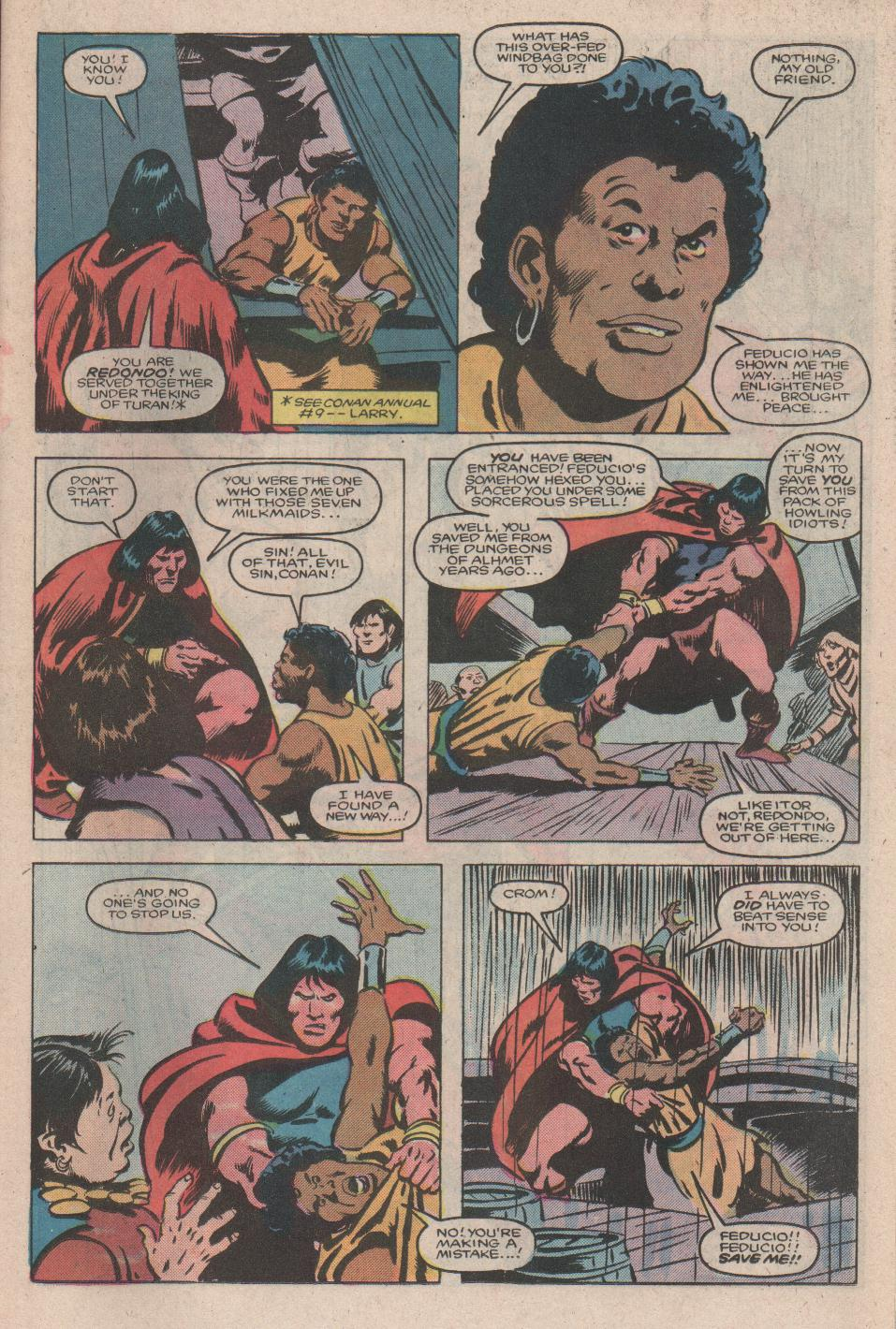 Conan the Barbarian (1970) Issue #176 #188 - English 10