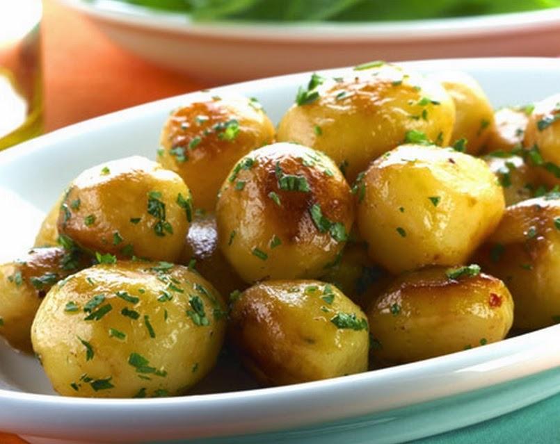 Batata Dourada (vegana)