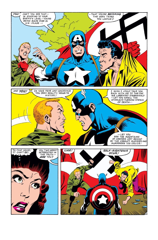 Captain America (1968) Issue #275 #191 - English 22