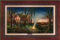 Terry Redlin Autumn Evening3