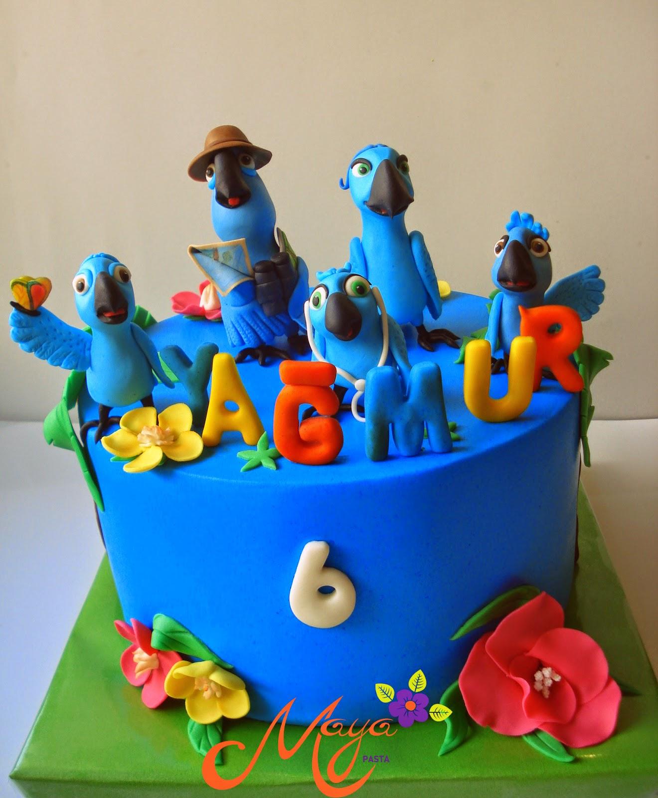 Rio-2 cake