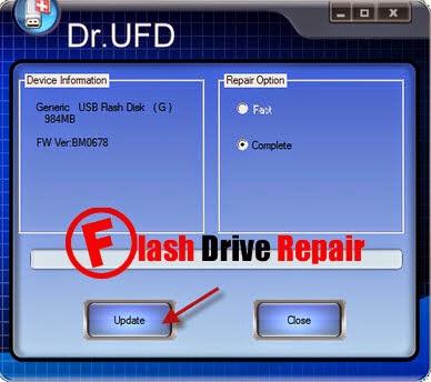 Dr UFD PQI USB 3.0 recovery tool