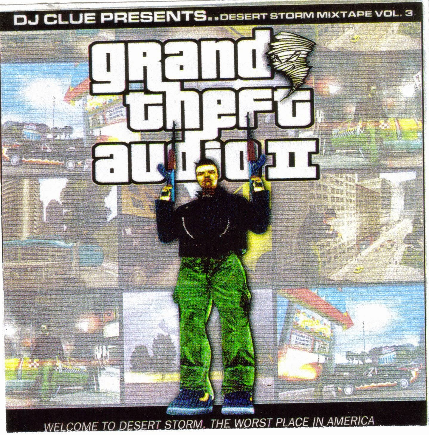 DJ CLUE? THE Perfect Desert Storm Classic NYC Mixtape CD